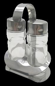 Metro Professional Zout + peper dispenser 11 cm