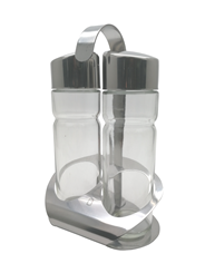 Metro Professional Olie en azijn dispensers set 18 cm