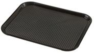 Metro Professional Dienblad PP rechthoekig 26,5 x 34,5 cm zwart
