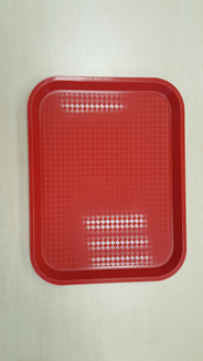 Metro Professional Dienblad PP rechthoekig 26,5 x 34,5 cm rood