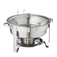 Metro Professional Chafing Dish rond 4,5 liter