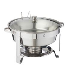 Metro Professional Chafing Dish rond 4,5 liter