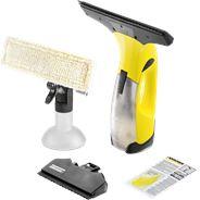 Kärcher WV 2 0.1l Zwart, Geel elektrische raamreiniger