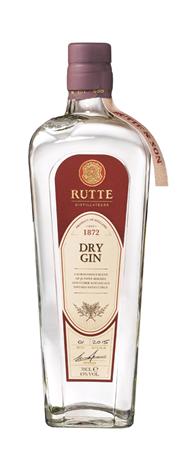 Rutte Dry gin 6 x 700 ml