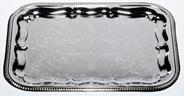 Aro Dienblad Chrome rechthoekig 41 x 31 cm