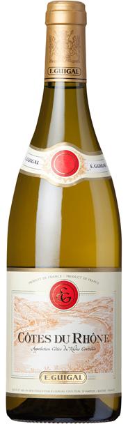 E. Guigal Côtes du Rhône blanc 2015 12 x 750 ml