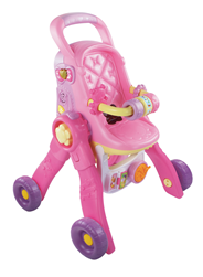 VTech Little Love 3 in 1 poppenwagen
