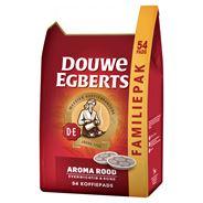 Douwe Egberts Aroma Rood Koffiepads 54 Stuks