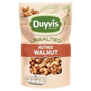 Duyvis Ongezouten Walnoten Mix 125 gr