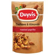 Duyvis Cashews & Almonds Roasted Paprika 125 gram