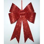 Peha Kersthanger 30 cm rood glitter
