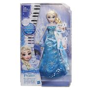 Hasbro Tienerpop Disney Frozen Elsa met pianojurk
