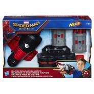 Nerf Spider-man Rapid reload blaster