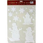 Peha Kerst raamstickers sneeuwman/ster