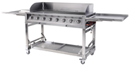 Metro Professional Barbecue 8-branders grill