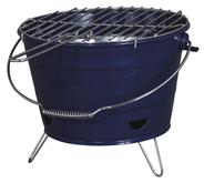 Tarrington House Houtskoolbarbecue draagbaar blauw