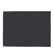 Metro Professional Zijwand paviljoen 3 x 3 zwart