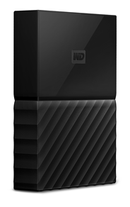 Western Digital My Passport 2.5 Inch externe HDD 4TB Zwart