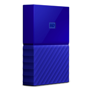 Western Digital My Passport 2.5 Inch externe HDD 4TB Blauw