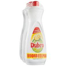 Dubro Geconcentreerd Orginal Extra Citroen Voordeelverpakking 3 x 900 ml