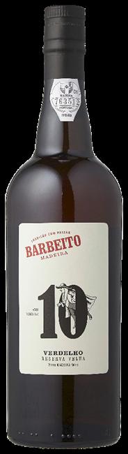 Vinhos Barbeito Madeira Verdelho 10 years old 6 x 750 ml