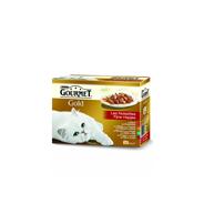 Purina Gourmet Gold Fijne Hapjes 12-pack o.a. met Rund 12 x 85 g