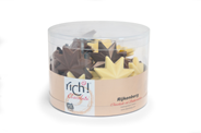 Rich! Chocolate Kerststerren 500 gram