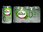 Grolsch 0.0% fles 4 x 6 x 33 cl