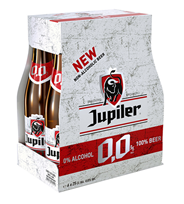 Jupiler 0,0% fles 4 x 6 x 250 ml