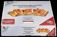 Goutier Roomboter saucijzenbroodjes 14 x 80 gram