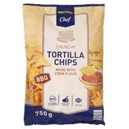 Metro Chef Tortilla chips BBQ 750 gram