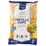 Metro Chef Tortilla chips mild 750 gram