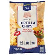 Metro Chef Tortilla chips hot 750 gram