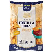 Metro Chef Tortilla chips cheese 750 gram