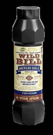 Remia Wild Bill American garlic saus 800 ml