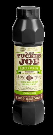Remia Tucker Joe Burger relish 750 ml
