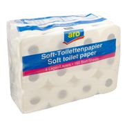 Aro Soft Toiletpapier 4-laags 24 rollen