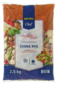 Metro Chef China mix 2,5 kg