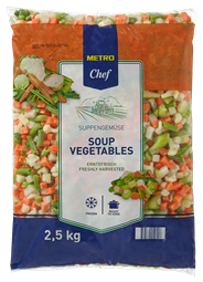 Metro Chef Soepgroenten 2,5 kg