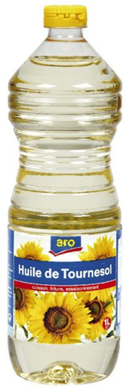 Aro Zonnebloemolie 15 x 1 liter