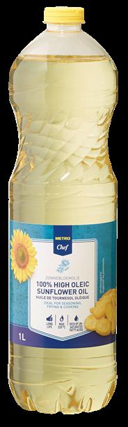 Metro Chef HIGHOLEIC Zonnebloemolie 1 liter