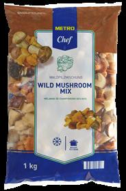 Metro Chef Wilde champignons 2,5 kg