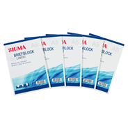 Sigma Schrijfblok met A5 lijntjespapier (50 vellen) 5 stuks