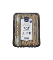 Metro Chef Bevroren haring filet 20 stuks hand gefileerd 500 gram