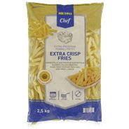 Metro Chef Extra crisp fries 9x9 2,5 kg