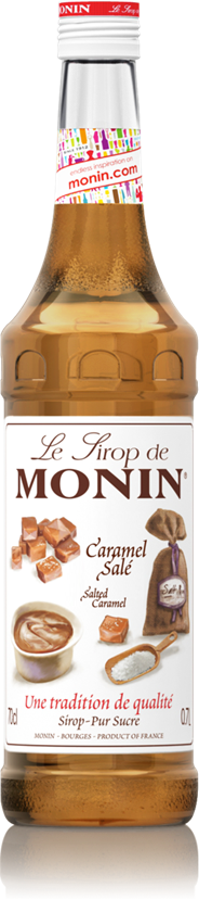Monin Gezouten karamel 70 cl