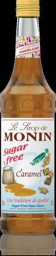 Monin Karamel suiker vrij 70 cl