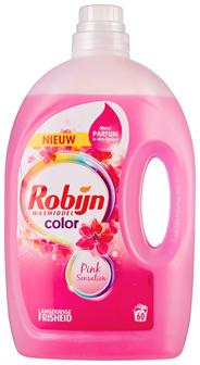 Robijn Wasmiddel Color Pink Sensation 3 liter (60 wasbeurten)