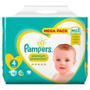 Pampers Premium Protection Maat 4, 9-14kg, 78 Luiers