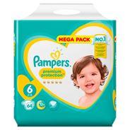 Pampers Premium Protection Maat 6, 13+ kg, 64 Luiers